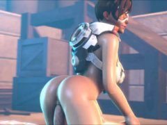 Overwatch Tracer Hentai Porn Video XXX Nude Sex Scene